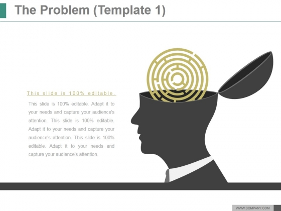 The Problem Template 1 Ppt PowerPoint Presentation Guide