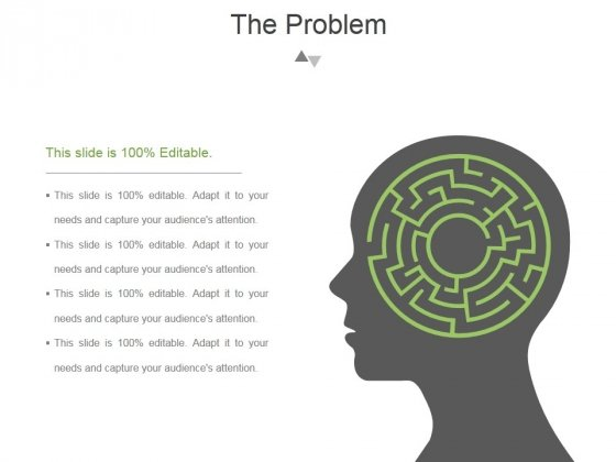 The Problem Template 1 Ppt PowerPoint Presentation Slides
