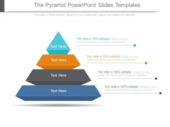 The Pyramid Powerpoint Slides Templates