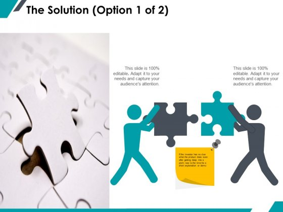 The Solution Business Ppt PowerPoint Presentation Infographics Infographics