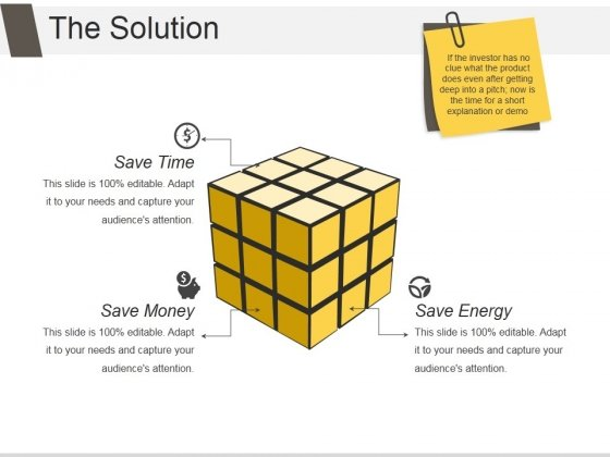 The Solution Ppt PowerPoint Presentation Layout