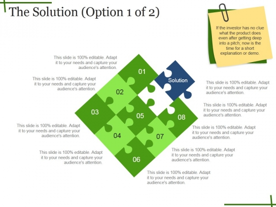 The Solution Ppt PowerPoint Presentation Layouts File Formats