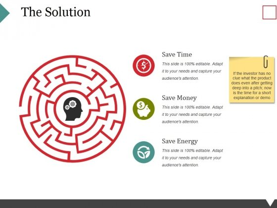 The Solution Ppt PowerPoint Presentation Portfolio Aids