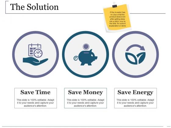 The Solution Ppt PowerPoint Presentation Portfolio Mockup