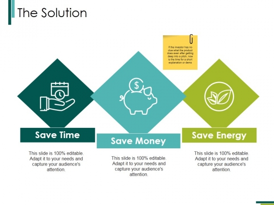 The Solution Ppt PowerPoint Presentation Professional Backgrounds