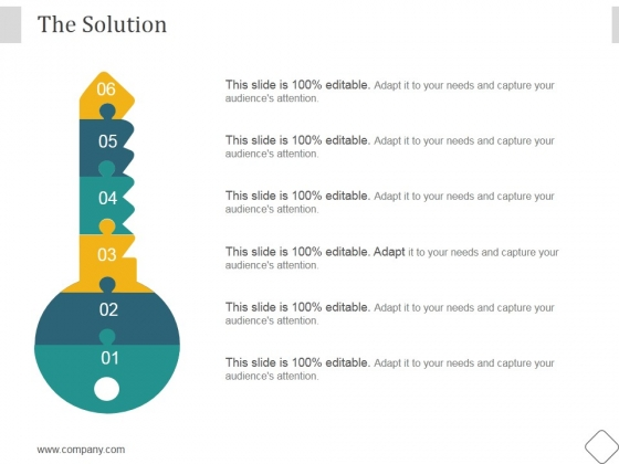 The Solution Ppt PowerPoint Presentation Styles