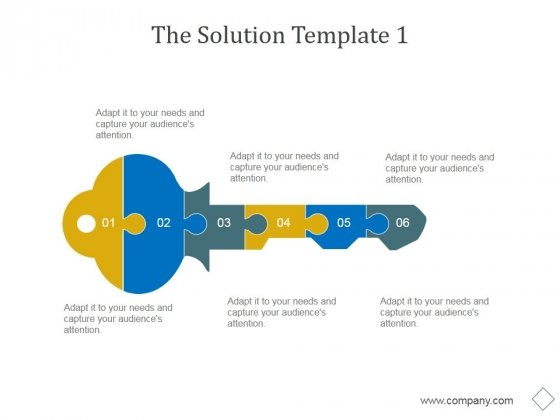 The Solution Template 1 Ppt PowerPoint Presentation Example 2015