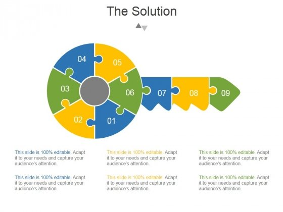 The Solution Template 1 Ppt PowerPoint Presentation Examples