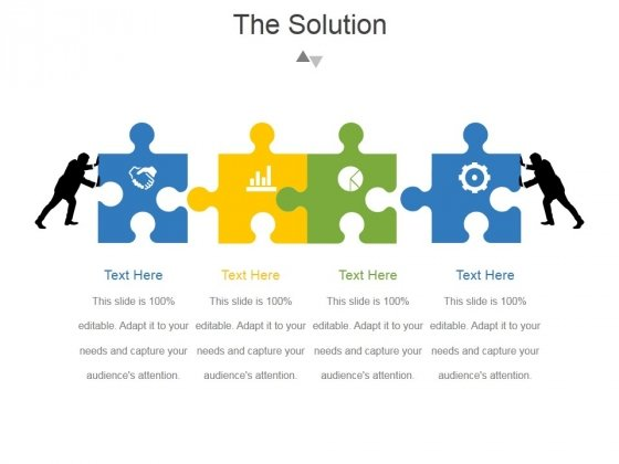 The Solution Template 2 Ppt PowerPoint Presentation Deck