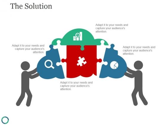 The Solution Template 2 Ppt PowerPoint Presentation Graphics