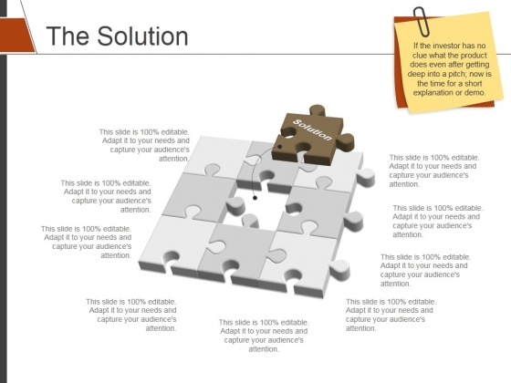 The Solution Template 2 Ppt PowerPoint Presentation Portfolio Summary
