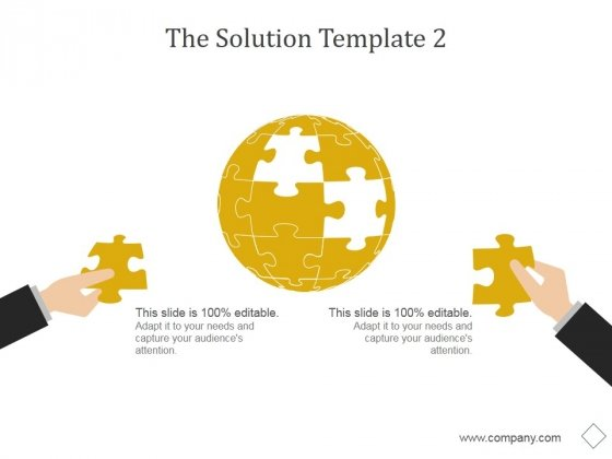 The Solution Template 2 Ppt PowerPoint Presentation Shapes