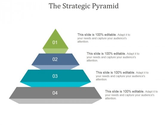 The Strategic Pyramid Ppt PowerPoint Presentation Influencers