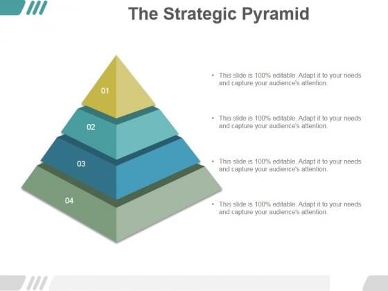 The Strategic Pyramid Ppt PowerPoint Presentation Slide Download
