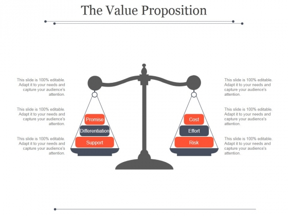 The Value Proposition Template 2 Ppt PowerPoint Presentation Graphics