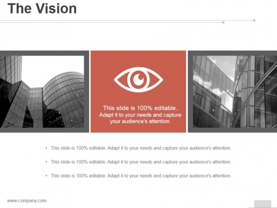 The Vision Ppt PowerPoint Presentation Samples
