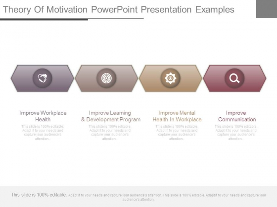 Theory Of Motivation Powerpoint Presentation Examples