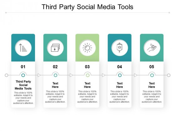 Third Party Social Media Tools Ppt PowerPoint Presentation Summary Show Cpb