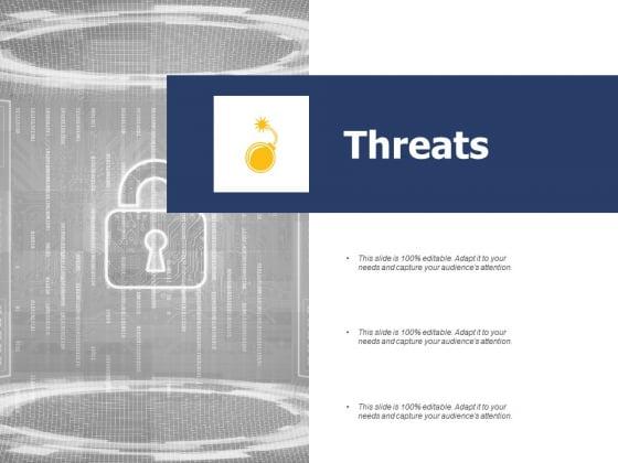 Threats Management Ppt PowerPoint Presentation Visual Aids Show