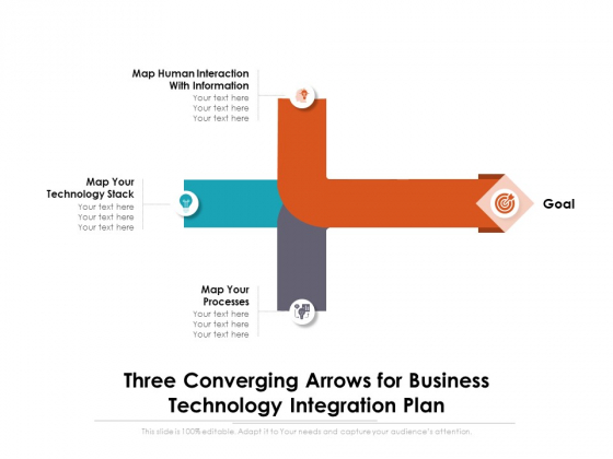 Three_Converging_Arrows_For_Business_Technology_Integration_Plan_Ppt_PowerPoint_Presentation_Summary_Background_Images_PDF_Slide_1