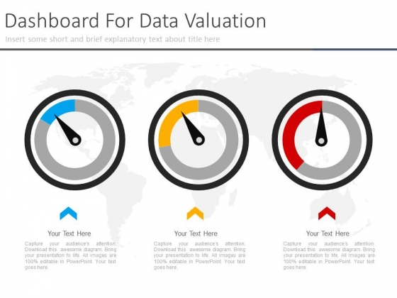 Three Dashboard For Corporate Level Strategy Powerpoint Slides