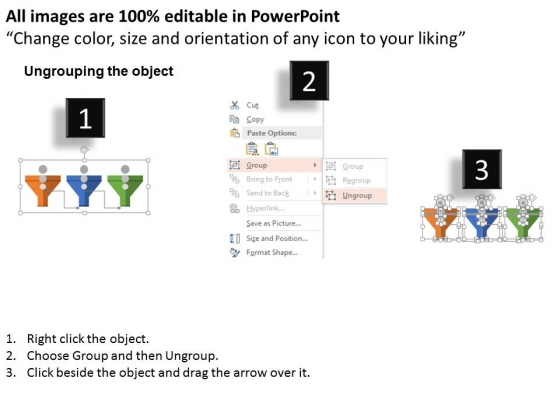 Three_Funnel_For_Sales_Process_Powerpoint_Templates_2