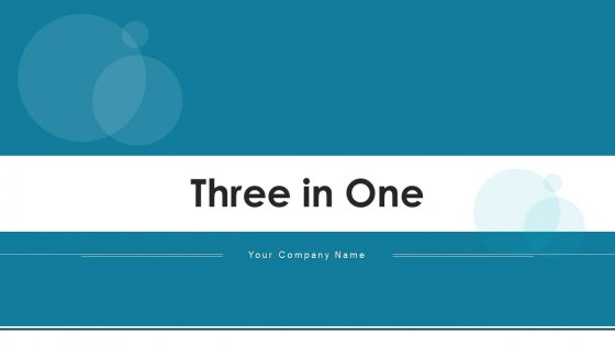 Three In One Decision Making Ppt PowerPoint Presentation Complete Deck With Slides