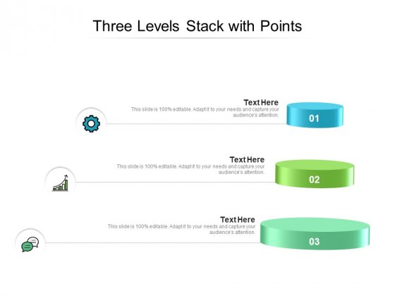 Three_Levels_Stack_With_Points_Ppt_PowerPoint_Presentation_Infographics_Aids_PDF_Slide_1