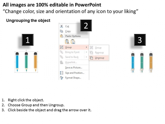 Three_Pencil_Style_Text_Box_Diagram_Powerpoint_Template_2