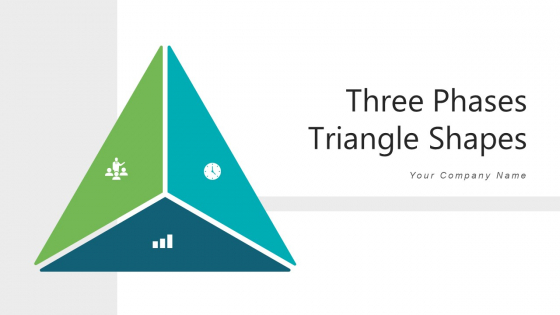 Three Phases Triangle Shapes Financial Analysis Ppt PowerPoint Presentation Complete Deck With Slides