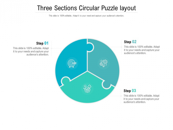 Three_Sections_Circular_Puzzle_Layout_Ppt_PowerPoint_Presentation_Inspiration_Maker_Slide_1