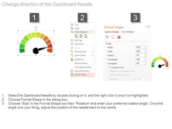 Three_Steps_Dashboard_Charts_For_Financial_Review_Powerpoint_Slides_2