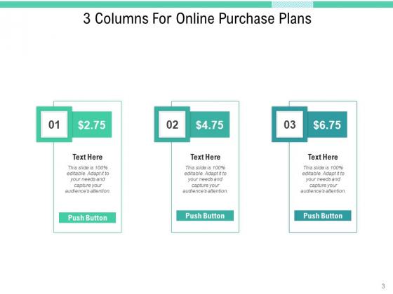 Three_Verticals_Subscription_Plan_Purchase_Plans_Arrows_Ppt_PowerPoint_Presentation_Complete_Deck_Slide_3