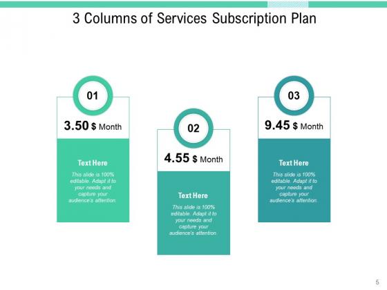 Three_Verticals_Subscription_Plan_Purchase_Plans_Arrows_Ppt_PowerPoint_Presentation_Complete_Deck_Slide_5