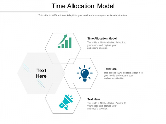 Time Allocation Model Ppt PowerPoint Presentation Infographic Template Background Cpb