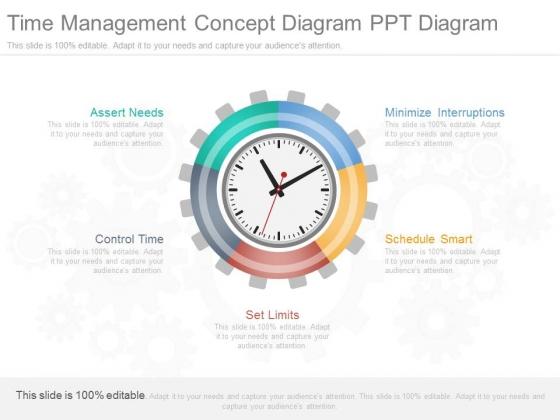 Time Management Concept Diagram Ppt Diagram