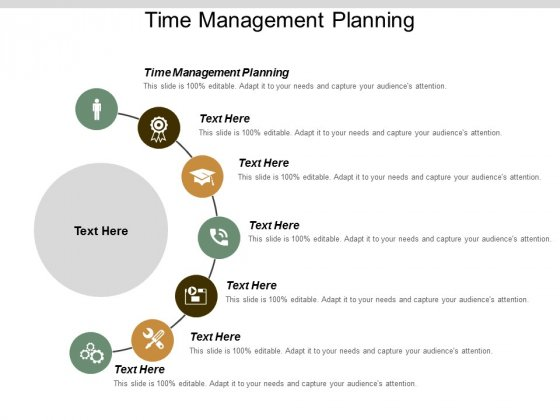 Time Management Planning Ppt Powerpoint Presentation Summary Example Introduction Cpb
