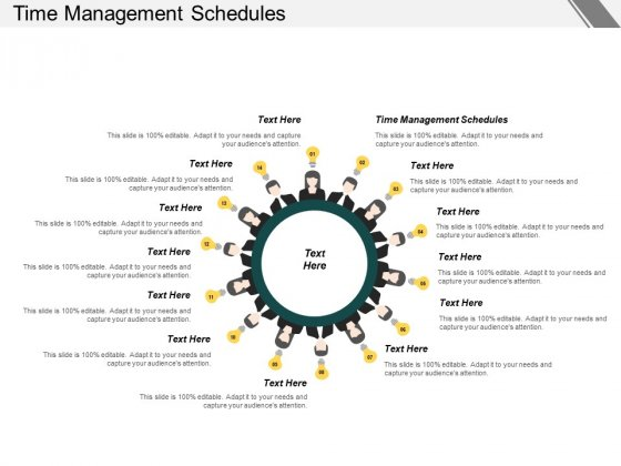Time Management Schedules Ppt PowerPoint Presentation Outline Pictures