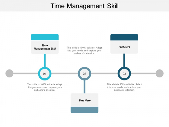 Time Management Skill Ppt PowerPoint Presentation File Graphics Design Cpb