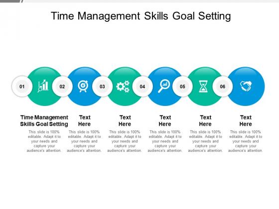 Time Management Skills Goal Setting Ppt PowerPoint Presentation Portfolio Images Cpb