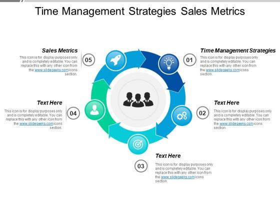 Time Management Strategies Sales Metrics Ppt PowerPoint Presentation Summary Designs Download