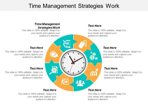 Time Management Strategies Work Ppt PowerPoint Presentation Pictures Guide Cpb