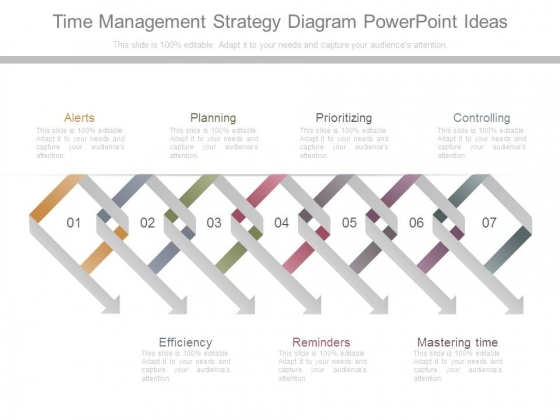 Time Management Strategy Diagram Powerpoint Ideas