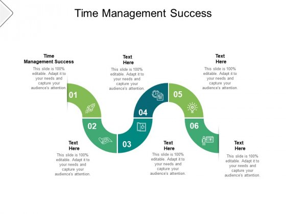 Time Management Success Ppt PowerPoint Presentation File Smartart Cpb