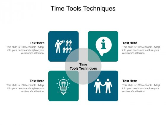 Time Tools Techniques Ppt PowerPoint Presentation Pictures Themes Cpb Pdf