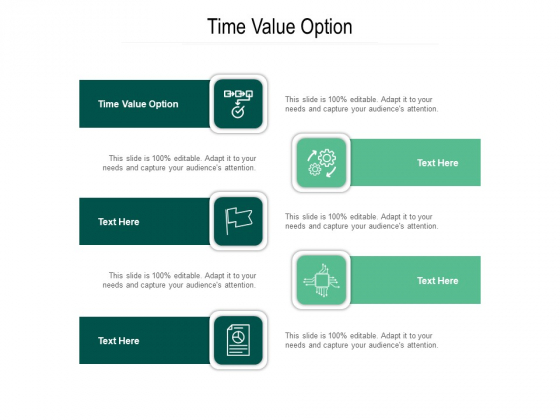 Time Value Option Ppt PowerPoint Presentation Infographics Layouts Cpb Pdf