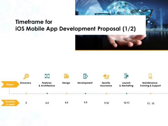 Timeframe_For_IOS_Mobile_App_Development_Proposal_Development_Ppt_PowerPoint_Presentation_Show_Slide_1