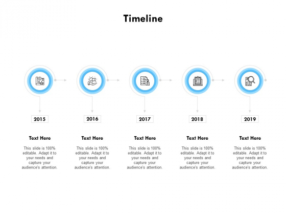 Timeline 2015 To 2019 Ppt PowerPoint Presentation Pictures Professional