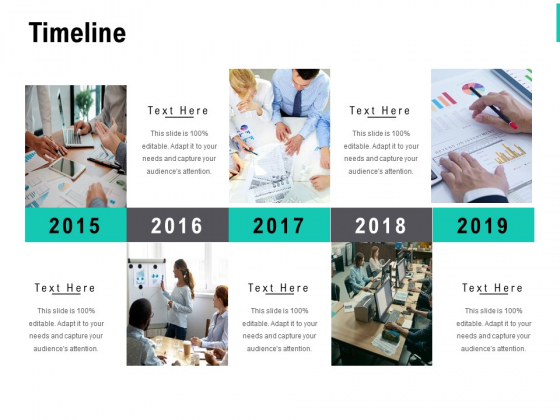 Timeline 2015 To 2019 Ppt PowerPoint Presentation Styles Gallery