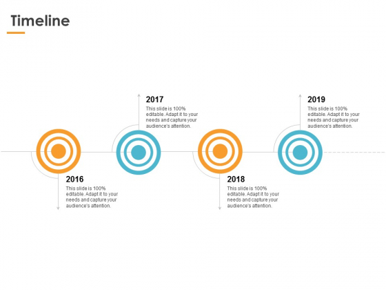 Timeline 2016 To 2019 Ppt PowerPoint Presentation Ideas Grid